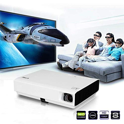 Thuisscoop videobeamer,3D-mapping 5000 lumen home theater LED 1080p hoge resolutie beamer super helder