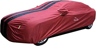 KTYXDE Car Cover Awning Cover | Waterproof and UV Resistant | Outdoor Car Clothing for Lexus Models Car Cover (Color : Red, Size : Lexus LF-Xh)
