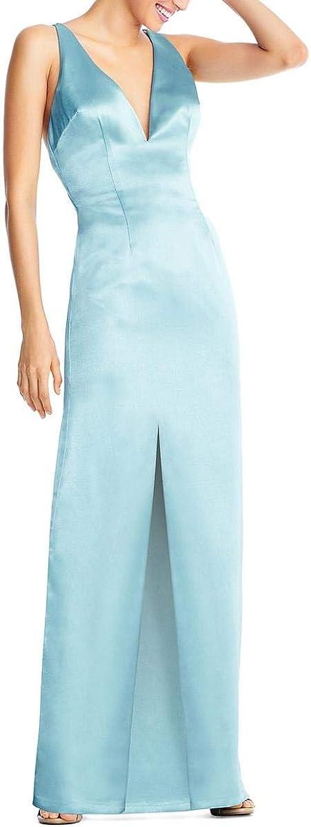 Aidan by Mattox Womens Evening Sheath lowest price Dress OFFicial site Satin