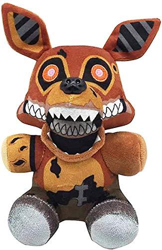Plush - Freddy Plush -All Characters(7') - Five Nights Freddy's Plush: Springtrap, Foxy, Bonnie, RABIT, (Twisted Ones Foxy)