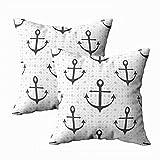 Juego de 2 fundas de almohada para exteriores, 45,7 x 45,7 cm, diseño de fondo brillante, para decoración del hogar, fundas de almohada con cremallera para sofá o sofá