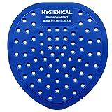 Urinalsieb, Urinaleinlage, blau, parfümiert aus Kunststoff