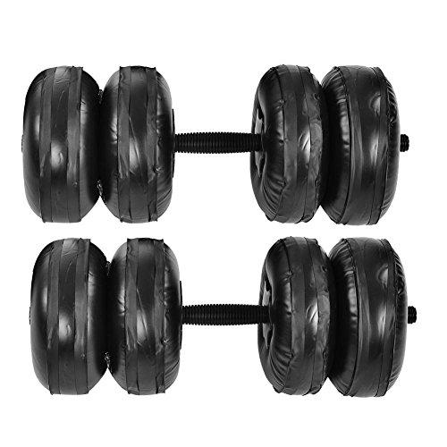 VIFER Haltères - Poids Poids réglable Main Ensemble équipement d'exercice de Musculation Kit d'haltères d'eau 25 kg
