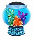 Koller Products BettaTank 1.6-Gallon Fish Bowl with LED Lighting
