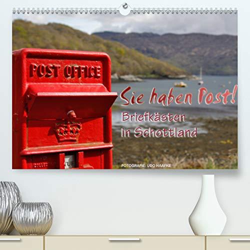Sie haben Post - Briefkästen in Schottland (Premium, hochwertiger DIN A2 Wandkalender 2021, Kunstdruck in Hochglanz)