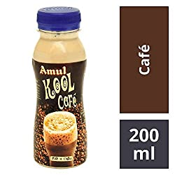 Amul Kool Cafe, 200ml Pet Bottle