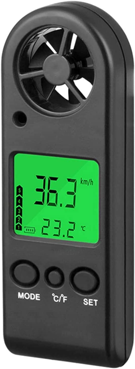 HANJIANFEI Digital Selling and selling Handheld Anemometer Meter Portable Speed Limited time sale Wind