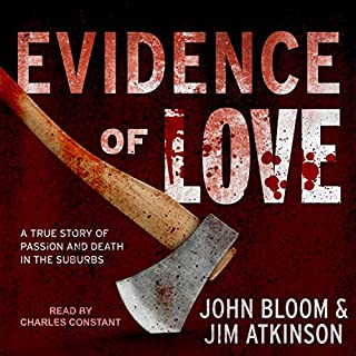Evidence of Love audiobook cover art