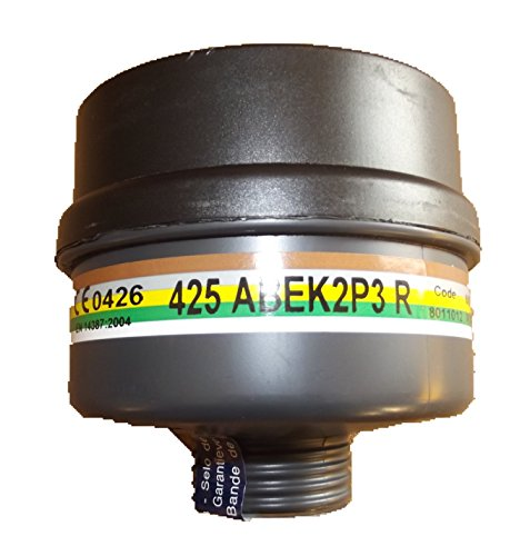 Atemschutzfilter ABEK2 P3 - mit Stadardgewinde gegen Gase, Dämpfe und Partikel