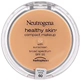 Neutrogena Healthy Skin Compact Makeup, Natural Beige [60] 0.35 oz (Pack of 3)