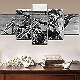 6Lv5Panel Leinwanddrucke Easy Rider Movie Poster Reiten
