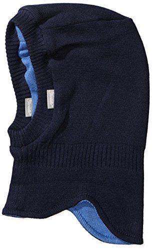 Sterntaler Baby-Jungen Wende-Strickmütze Mütze, Blau (Marine 300), 47