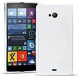 Conie SC19574 S Line Case Kompatibel mit Microsoft Lumia