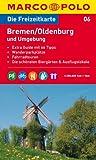 MARCO POLO Freizeitkarte Bremen, Oldenburg und Umgebung 1:100.000 -