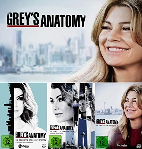 Grey's Anatomy: Die jungen Ärzte - Die komplette 13. + 14. + 15. Staffel