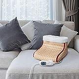 Cozy Scaldapiedi termico elettrico con 3 Potenze scalda piedi con telecomando display e timer