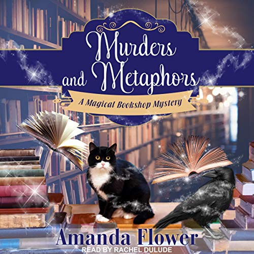 Murder and Metaphors audiobook cover art