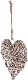 EBTOYS Wicker Hearts Wreath Home Wall Wedding Party Hanging Decor - Heart