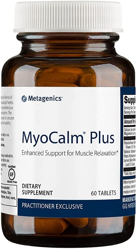 Metagenics MyoCalm Plus® – Enhanced Support for Muscle Relaxation*   60 servings