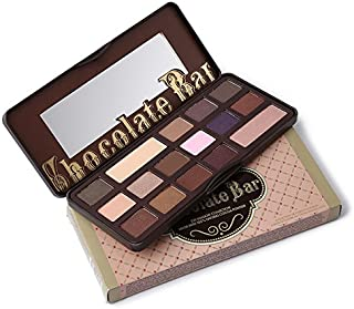 Boski Cosmetics 16 Colors Chocolate Bar Eye-shadow Palette Natural Nude Makeup Pressed Glitter Matte Palette Eyeshadow Pigment
