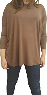 Women's Famous 3/4 Sleeve Bamboo Top Loose Fit