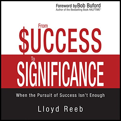 From Success to Significance audiobook cover art