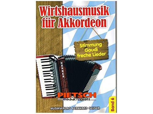 Wirtshausmusik für Akkordeon - Band 6