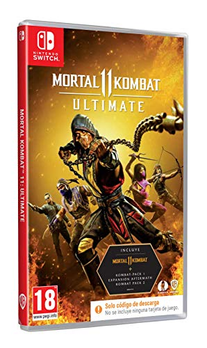 Mortal Kombat 11: Ultimate Standard NS Estándar Nintendo Switch
