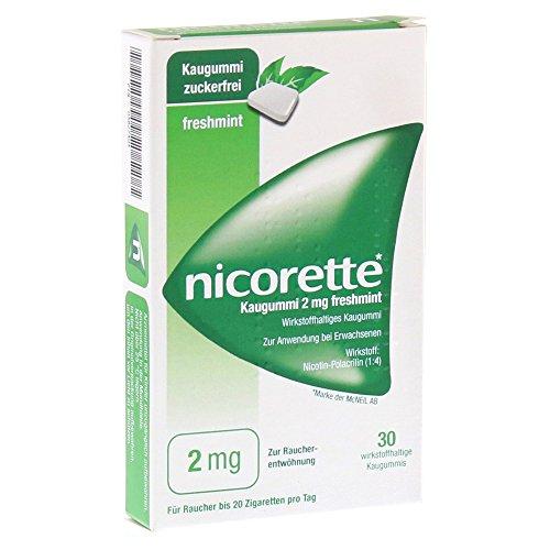 NICORETTE 2 mg freshmint Kaugummi 30 St Kaugummi