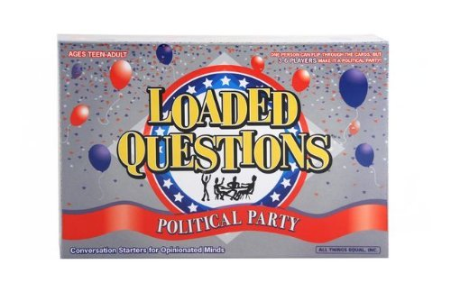 Loaded Questions Political Party Board Game