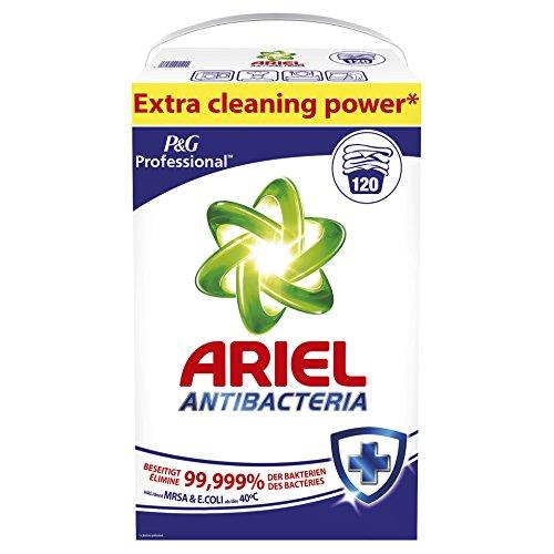 Ariel Professional Vollwaschmittel Antibacteria Pulver, 7,8kg, 120Waschladungen