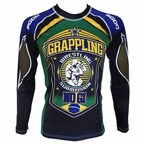 SGCC - Rashguard Absolute No GI Brazil -Tshirt MMA (XXL)