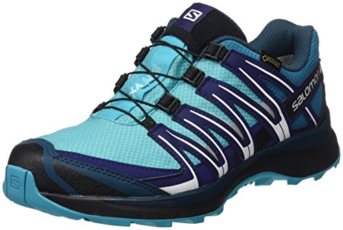 Salomon XA Lite GTX, Calzado de Trail Running Mujer, Azul (Blue Bird/Tahitian Tide/Astral Aura), 38 EU