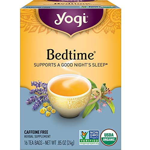 Yogi Tea - Bedtime (6 Pack) - Supports a Good Night's Sleep - 96 Tea...