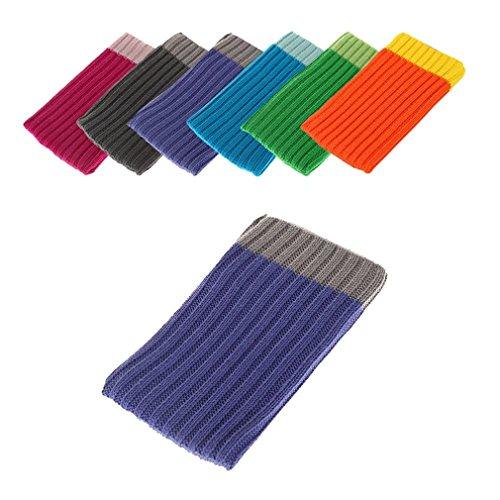 BRALEXX Universal Textil Socke passend für MobiWire Pegasus, Violett