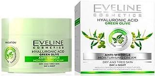 ايفلين نيتشر لاين - كريم الليل والنهار مكافحة التجاعيد بأوراق الزيتون الأخضر والفيتامينات 50 مل