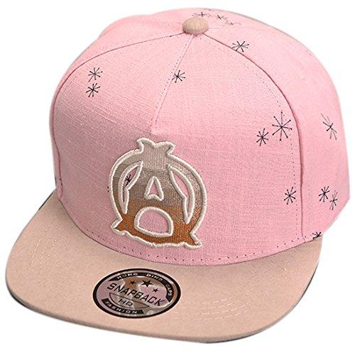 Thenice Kind Hip-Hop Cap Baseball Kappe Hut (A rosa)