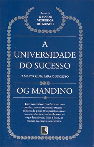 A UNIVERSIDADE DO SUCESSO (Capa Nova)