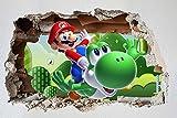 Customise4U Super Mario Wand-Zertrümmern Kinder