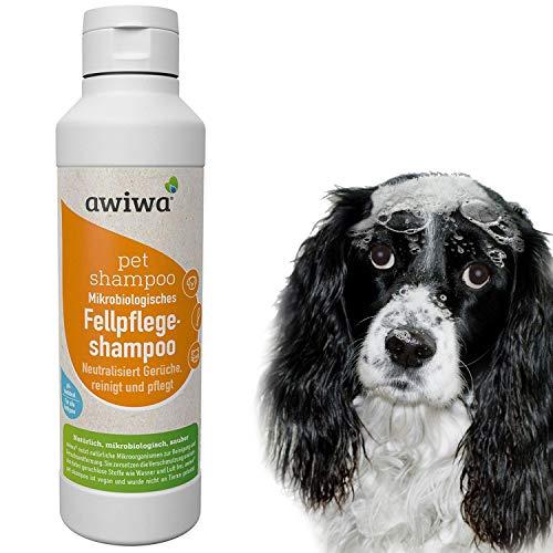 awiwa® pet shampoo für langes Fell und Kurzhaar, 100% Bio