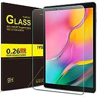 IVSO Templado Protector para Samsung Galaxy Tab A T510/T515 10.1 2019, Premium Cristal de Pantalla de Vidrio Templado para Samsung Galaxy Tab A 10.1 T510/T515 2019, 1 Pack