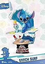 Beast Kingdom Disney's Lilo & Stitch Surfs Ds-030 D-Stage Series Statue, Multicolor,6 inches