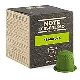 Note d'Espresso - Cápsulas para las cafeteras Nespresso, Matcha Latte, 4 g (caja de 40 unidades)
