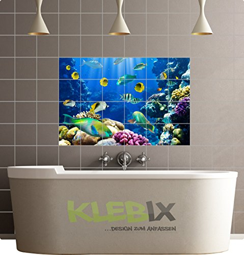 IMMAGINE su piastrelle adesive, decorazione mattonelle adesivi piastrelle Poster cucina bagno n. 52
