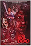 Evil Dead Movie Poster (1981) 24x36 Certified Sequential Holographic Sticker for Authenticity