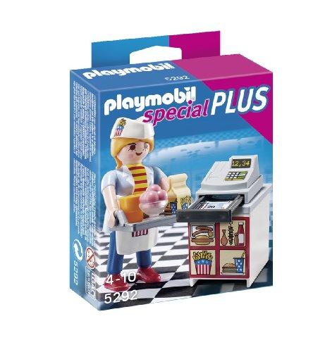PLAYMOBIL Especiales Plus - Camarera con Caja registradora (5292)
