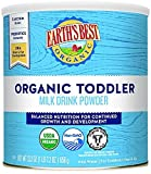 Earth's Best Organic Toddler Milk Drink Powder, Natural Vanilla, 23.02 Oz