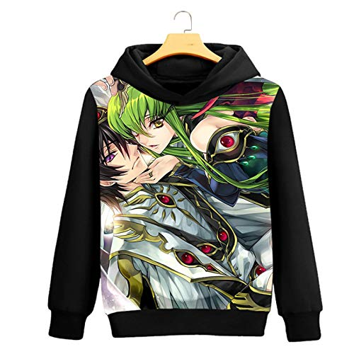 long-sleeved peripheral neck sweater anime round anime Men's