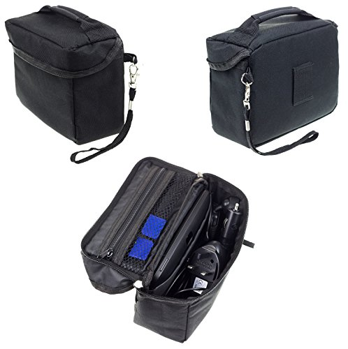 Travel Bag Carrying Case For Garmin Drive DriveSmart 65 60LM 60LMT 61 LMT-S 61LM RV 660LMT Nuvi 68LM 67LM 2639 Fleet 670 660 TomTom Via 1625 Go 620 Trucker 620 6 Inch GPS Sat Nav & Accessory Storage