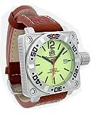 Tauchmeister 1937 T0144 - Reloj para Hombres, Correa de Cuero Color marrón